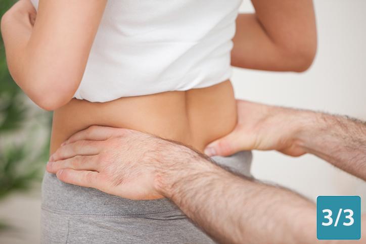 Myothérapie, pubalgie et douleurs du coccyx