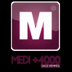 logo logiciel de gestion MEDI +4000 Sage-femme