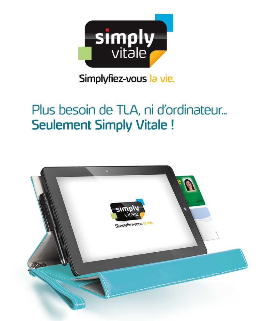 logo simply vitale + la tablette