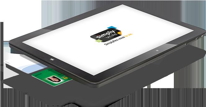 Tablette Twin Tab avec la vision des deux lecteurs