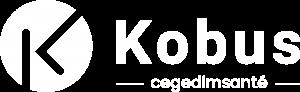 Kobus logo blanc