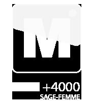 logo du logiciel de gestion de cabinet MEDI +4000 sage-femme