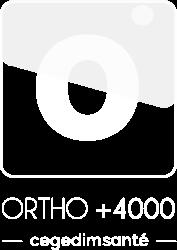 logo ortho +4000